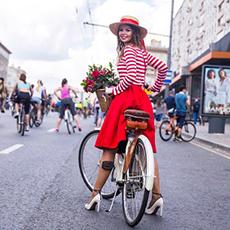 Московский Велопарад 17 сентября 2017г.